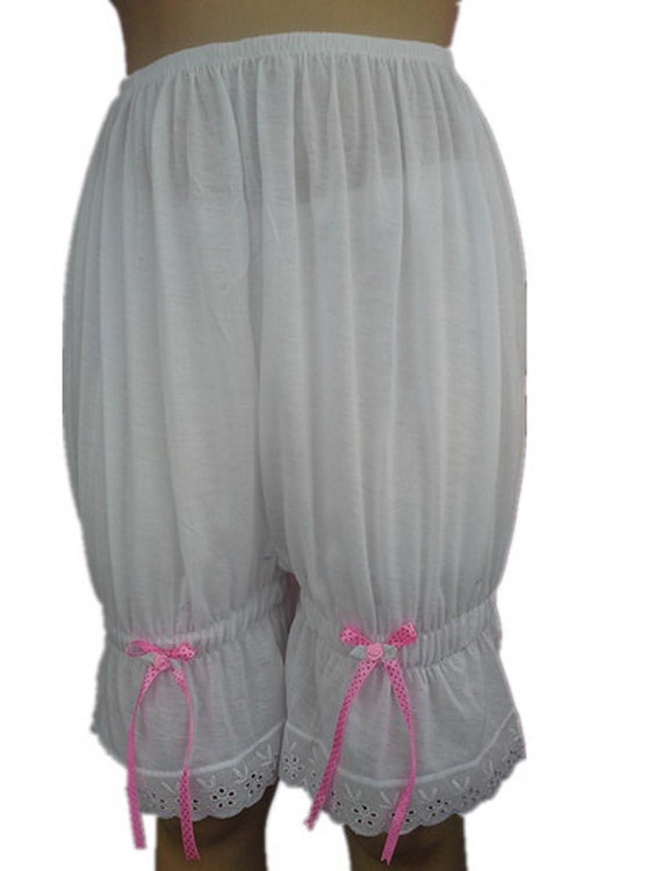 Frauen Handgefertigt Halb Slips UL2CBIV IVORY Half Slips Cotton Women Pettipants Lace kaufen