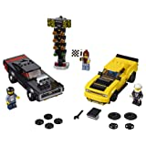 LEGO Speed Champions 2018 Dodge Challenger SRT Demon and 1970 Dodge Charger R/T 75893 Building Kit (478 Piece) (Color: Multi)