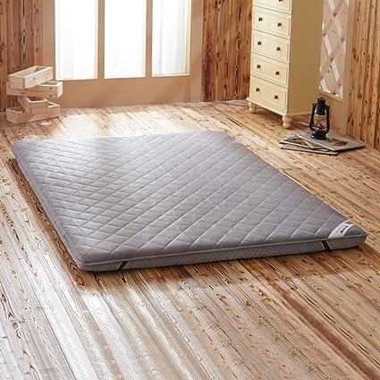 materasso imbottito materasso materassino a prova di umidità pieghevole materasso tatami non-slip di backup-E 100x200cm(39x79inch)