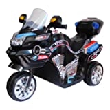 Lil' Rider Ride on Toy, 3 Wheel Motorcycle for Kids, Battery Powered Ride On Toy by Ride on Toys for Boys and Girls, 2 - 5 Year Old - Black FX (Color: Black, Tamaño: NO SIZE)