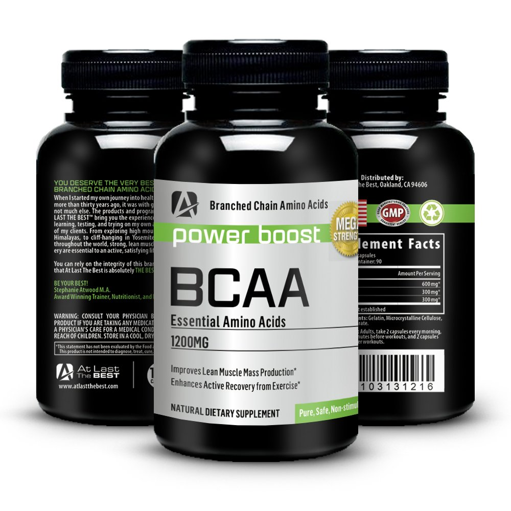 At Last the Best BCAA Capsules