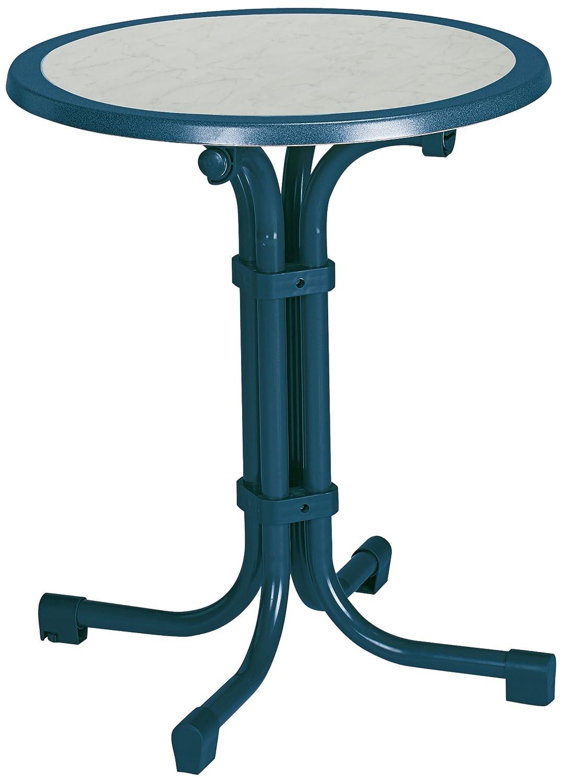 BEST 26536020 Tisch Boulevard rund, Durchmesser 60 cm, blau günstig kaufen