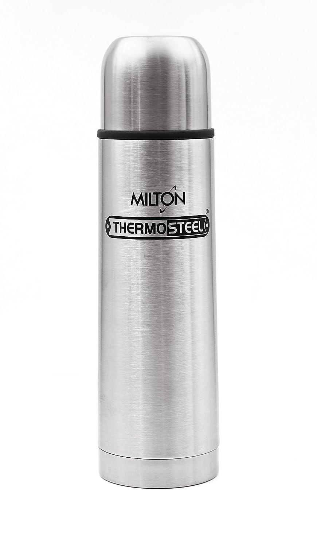 Milton Thermosteel Flip Lid Flask, 1000ml, Silver