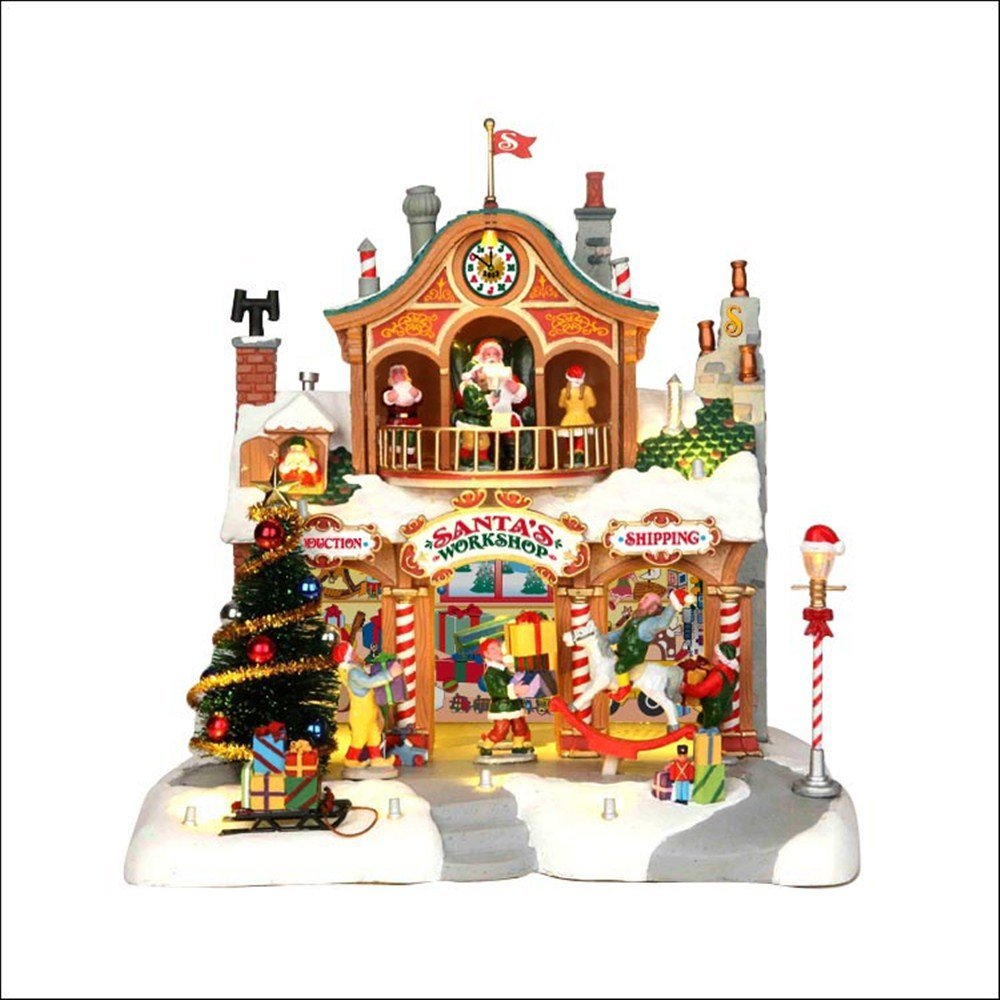 Lemax Christmas Village Santas Workshop by Lemax