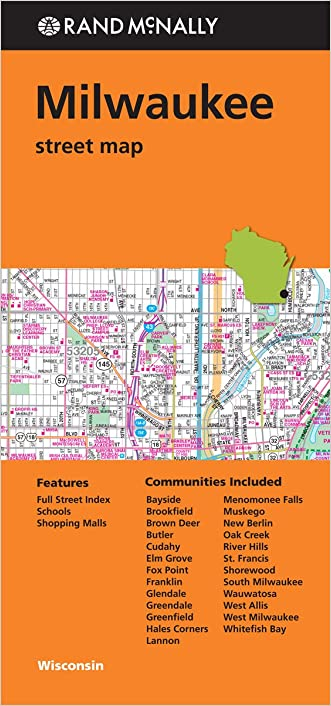 Rand Mcnally Folded Map: Milwaukee Street Map written by Rand McNally