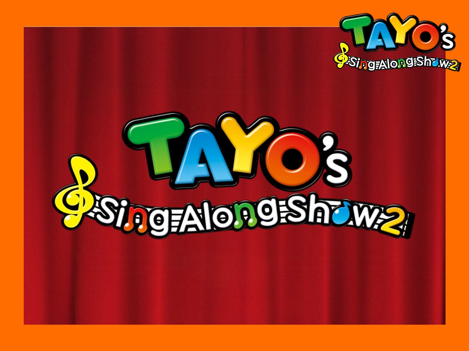 Tayo's Sing Along Show on Amazon Prime Instant Video UK