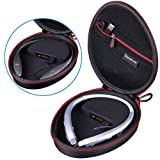 Smatree Charging Case Compatible with LG Tone HBS-900 / HBS-760 / HBS-910 / HBS-750 / HBS-800 / HBS-1100 / HBS-730/HBS 920/HBS 930 Bluetooth Wireless Stereo Headset (Headphone NOT Included) (Color: S100P-(Fit for LG HBS-910))