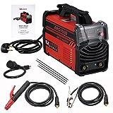 ARC-160 Amp Stick Arc DC Inverter Welder, 110V & 230V Digital Display LCD Welding (Color: Red, Tamaño: Full Size)