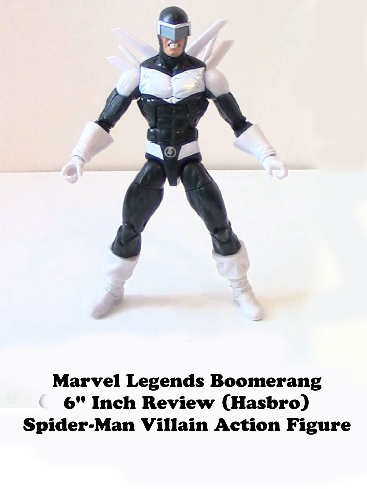 "Review: Marvel Legends Boomerang 6"" Inch Review (Hasbro) Spider-Man Villain Action Figure"