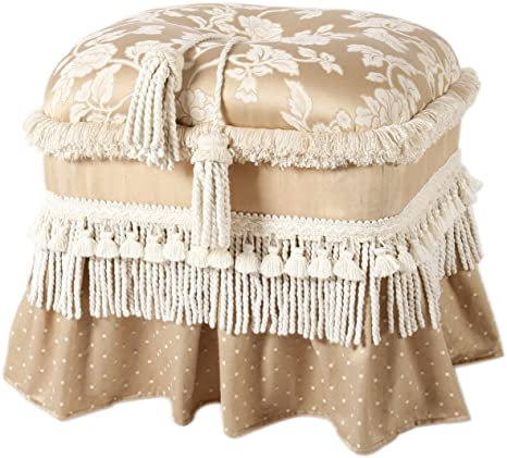 Traditional Rectangle Ottoman