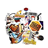 Waterproof Stickers, Sarissa PUBG Theme Waterproof Vinyl Stickers Car Sticker Motorcycle Bicycle Luggage Decal Graffiti Patches Skateboard Stickers for Laptop Stickers 29 PCS