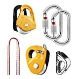 Petzl - KIT SECOURS CREVASSE, Kit for Hauling and Self-Rescue from Crevasses (Color: Black, Tamaño: One Size)