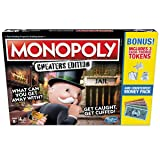 Monopoly Game: Cheaters Edition Board Game Value Pack Bonus (Tamaño: 1 pack)