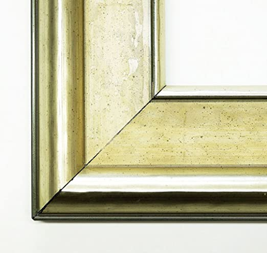 Wall Mirror – Mirror Canaletto – Ivory White Size of the Mirror Glass 90 x 120 – Real Wood