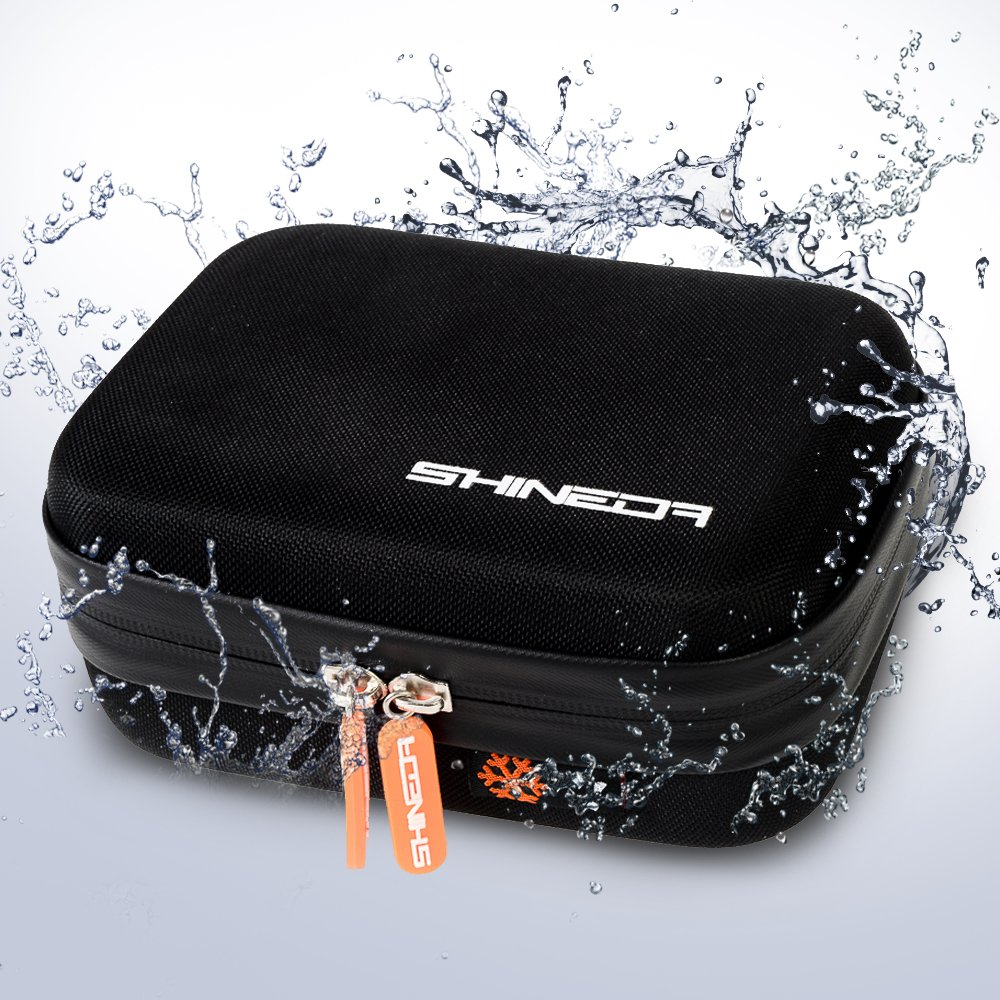 Shineda Small Water Resistant Case For GoPro Hero 4, Hero 3, Hero 3+