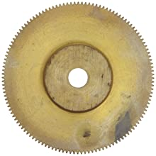 "Brass Pinion Gear 64P 20 Deg Pressure Angle 128Teeth x .250"" Bore x 2.000"" Pitch Dia"