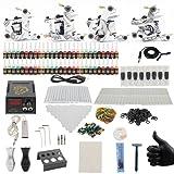 Tattoo Kits - Yuelong TK-3005 Hot Sale Tattoo Kits Set for Tattoo Needles,Tattoo machine ,Tattoo ink, Tattoo Supplies