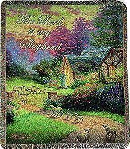 Amazon Com Manual Tapestry Throw Thomas Kinkade Good