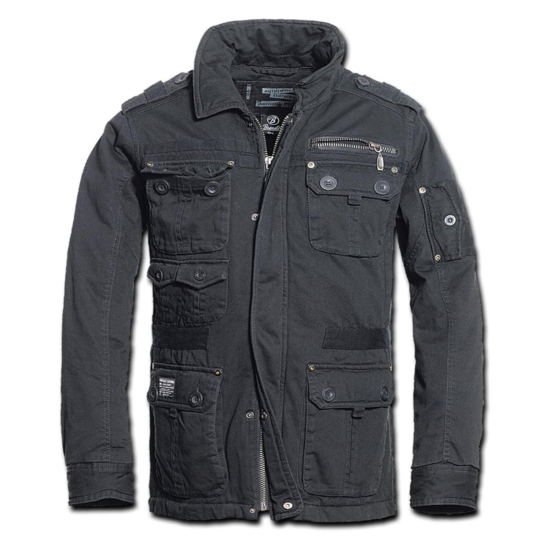 Männer und Herren Winterjacke Platinum Ich trage Schwarz bis … (mit Rückendruck) jetzt bestellen