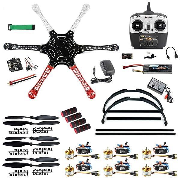 F550 Quadcopter Multirotor Hexacopter Kit Frame for DJI KK MK MWC Part PK