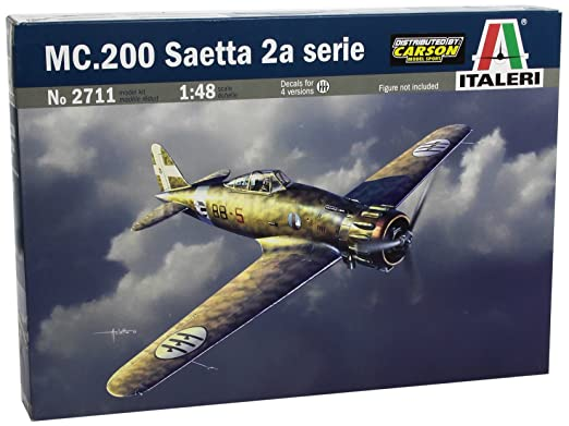 Italeri - I2711 - Maquette - Aviation - Macchi Mc.200 Saetta S.2
