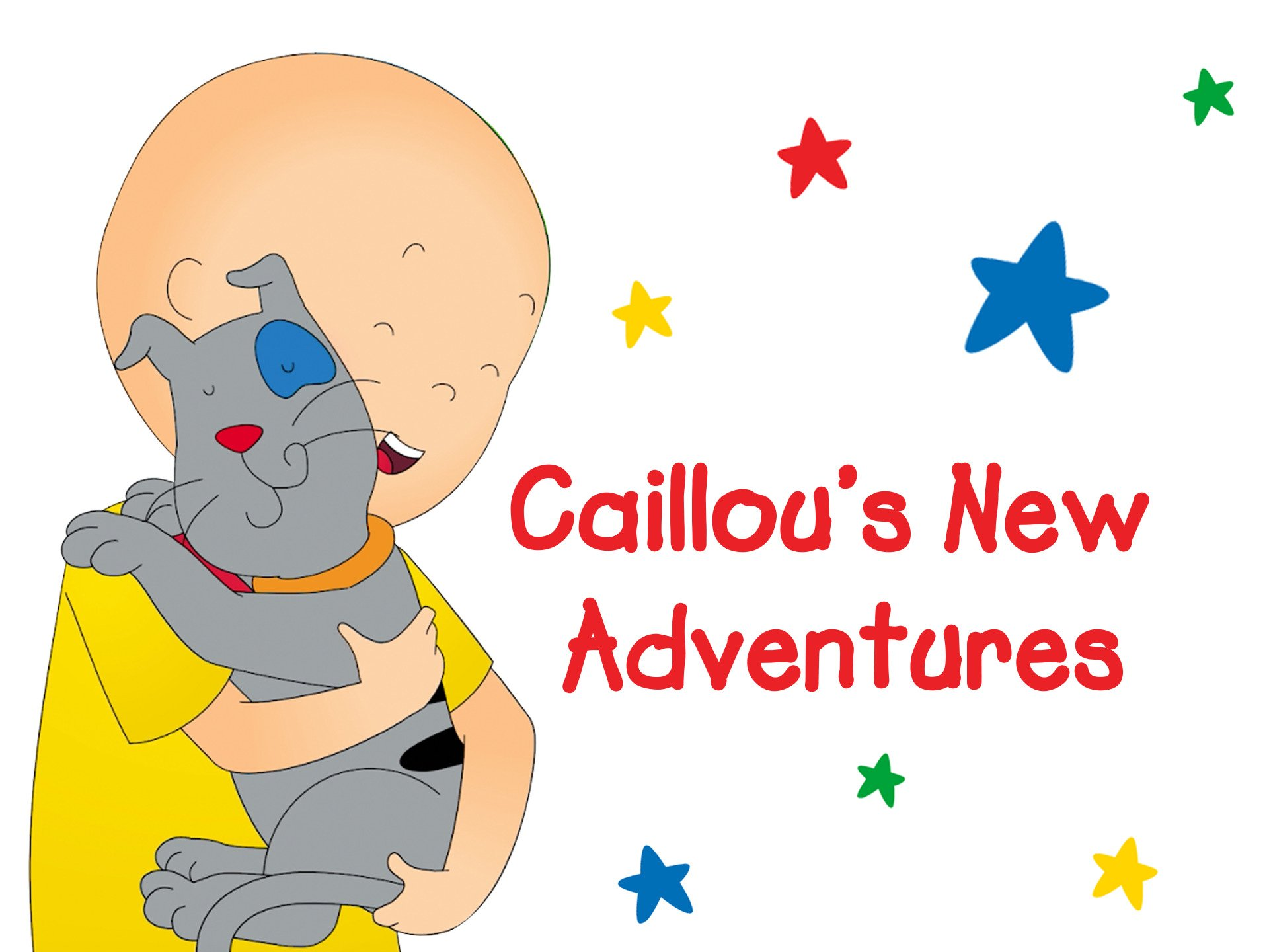 Caillou's New Adventures on Amazon Prime Instant Video UK