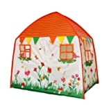 Homfu Kids Tent Playhouse For Children To Play Indoor Garden and Outdoors Toy Princess tents for Girls