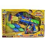 Chhota Bheem Chhota Bheem Soft Bullet Gun, Blue/Yellow