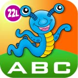 ABC Letters, Numbers, Shapes and Colors with Mathaliens: Preschool All-In-One Learning Adventure A to Z - Letter Quiz, Math Bingo (Numbers and Shapes), Learn to Read Alphabet Bingo: Fun Games for Toddler & Kindergarten Kids Explorers by Abby Monkey�