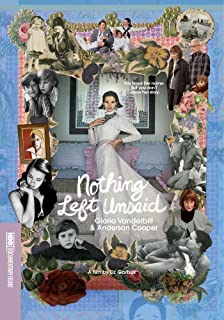 Book Cover: Nothing Left Unsaid: Gloria Vanderbilt & Anderson Cooper