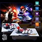 XFUNY Arcade Game Console 1080P 3D & 2D Games 2020 in 1 King of Fighters Pandora's Box 3D 2 Players Arcade Machine with Arcade Joystick Support Expand 6000+ Games for PC / Laptop / TV / PS4 (SF) (Color: Sf)
