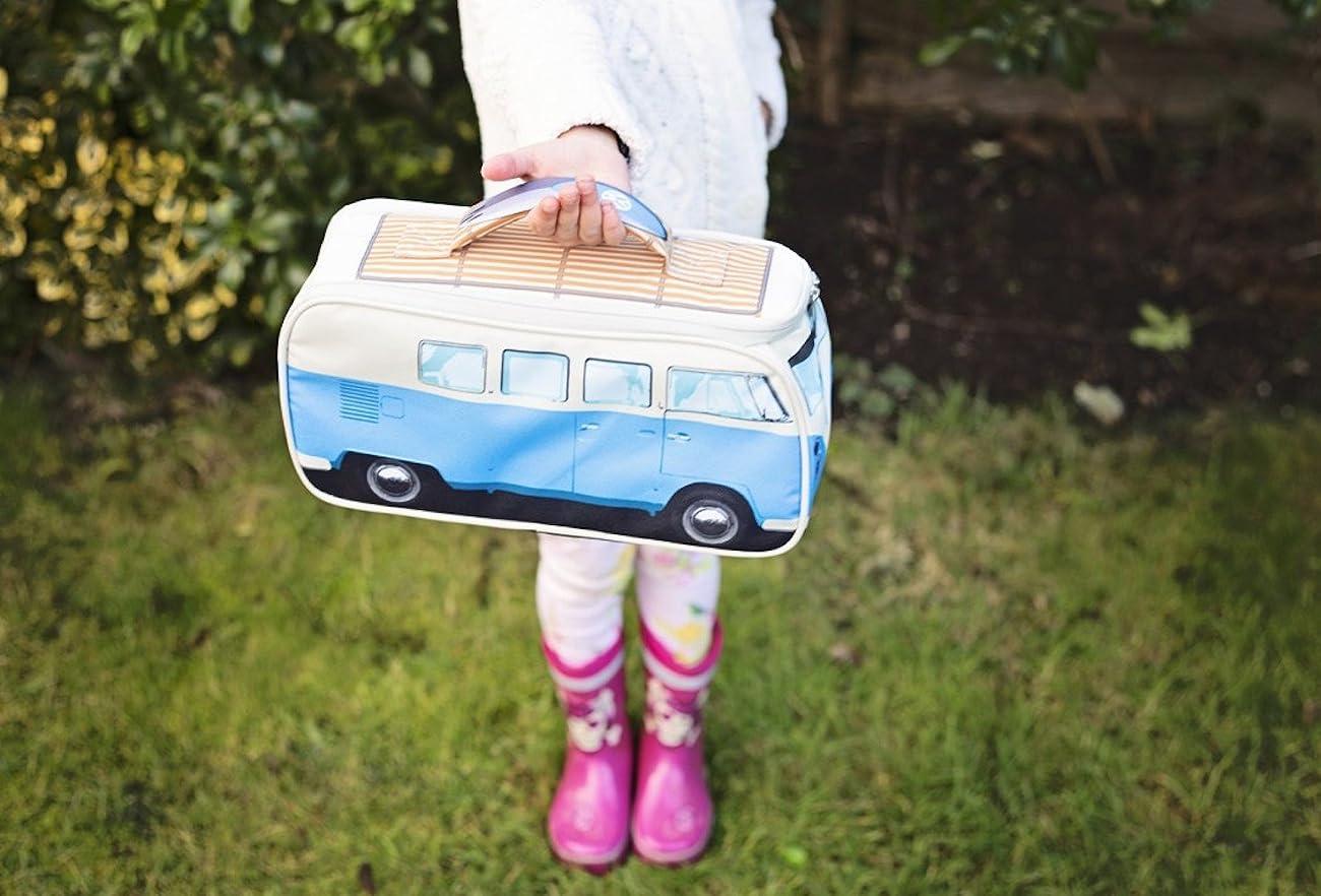 VW Volkswagen T1 Camper Van Lunch Bag - Blue - Multiple Color Options Available 3