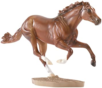 Breyer - 1345 - Figurine - Animal - Cheval Secrétariat - 1973 Triple Crown Champion
