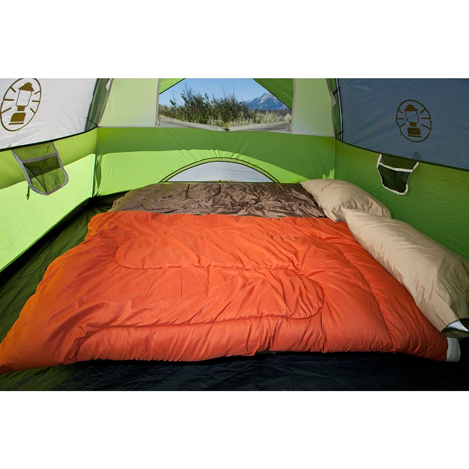 Coleman Sundome 4-person Tent Product Features  sc 1 st  Traveling Monarch : coleman sundome tent 5 person - memphite.com