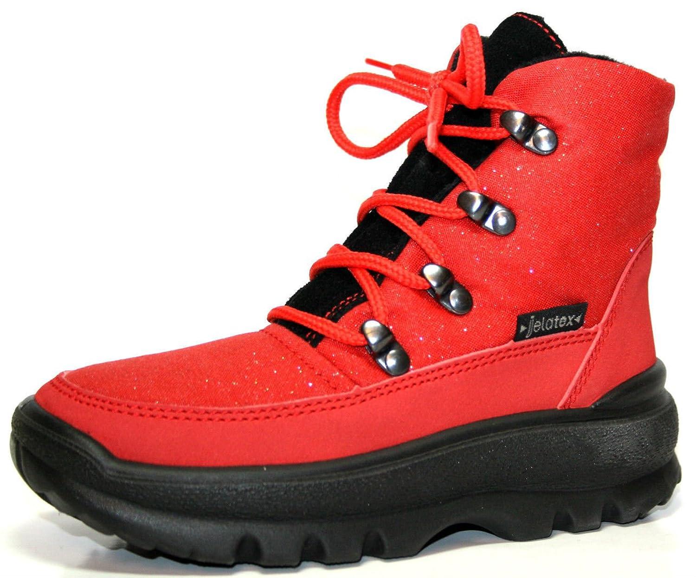 Jela Tex 81.529.22, Kinder Winter Schuhe Mädchen Stiefeletten