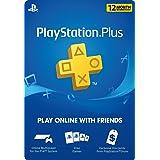 1 Year Playstation Plus PSN Membership Card