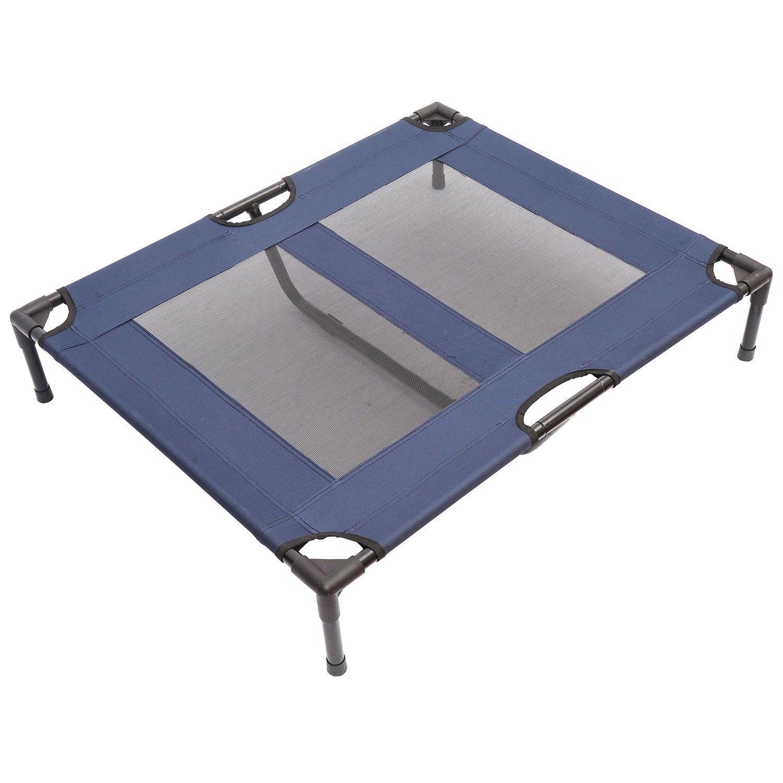 pawhut elevated dog bed