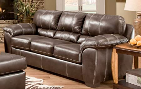 Chelsea Home Furniture Ace Sofa, Blackjack Cocoa