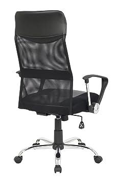 sixbros chaise de bureau bureau pivotante noir 139pm 1319 cuisine maison. Black Bedroom Furniture Sets. Home Design Ideas