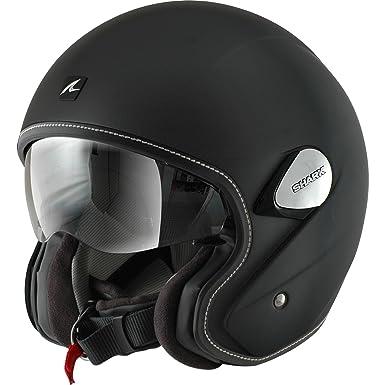 Shark Heritage moto Moto nouveau visage ouvert de casque avec visière