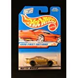 Hot Wheels 1998 First Editions Series (#16 of 40) True Value's #1 IROC Firebird Collector Car #653 (Color: Gold, Tamaño: 1:64 Scale)