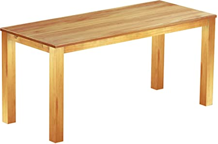 Brasil Meuble Haut 'Rio Classico' Table 240x 100cm, Pin massif, couleur miel