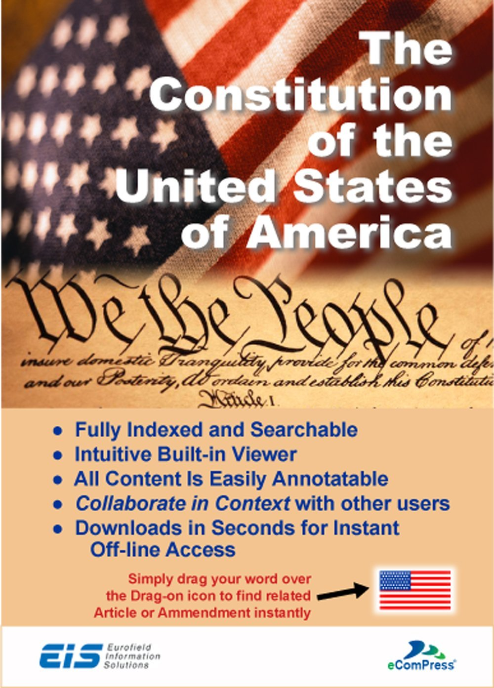 The Constitution of the United States of America - Secure Windows App (Download)