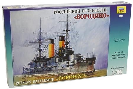Zvezda - Z9027 - Maquette - Croiseur Borodino - Echelle 1:350