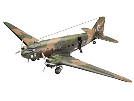 Revell - 04926 - Maquette D'aviation - Ac-47 Gunship - Echelle 1/48 - 118 Pièces