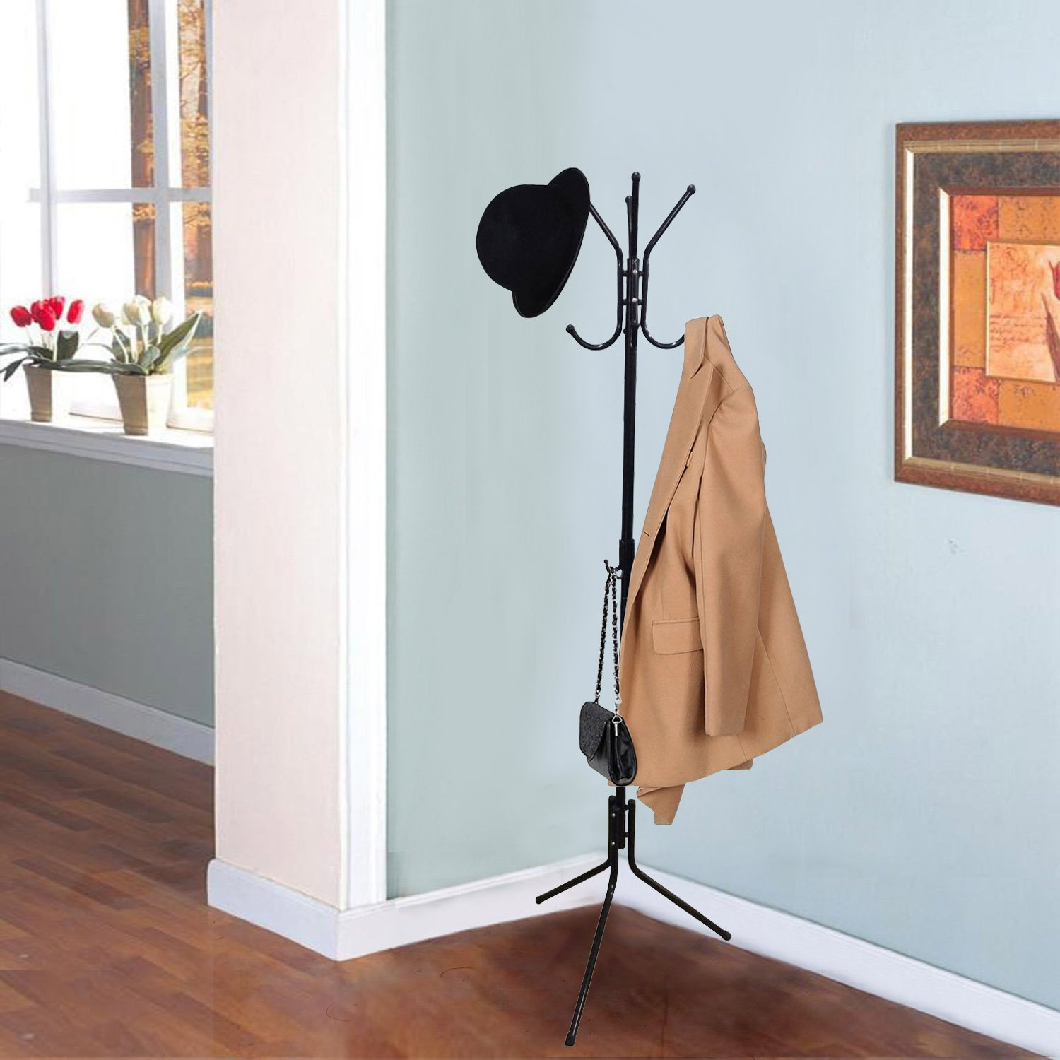 Tree shaped rack stand