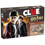 USAopoly Clue Harry Potter Board Game | Official Harry Potter Licensed Merchandise | Harry Potter Themed Board Game | Great gift for any Harry Potter Fan | Harry Potter Movie Artwork (Color: Multi-colored)