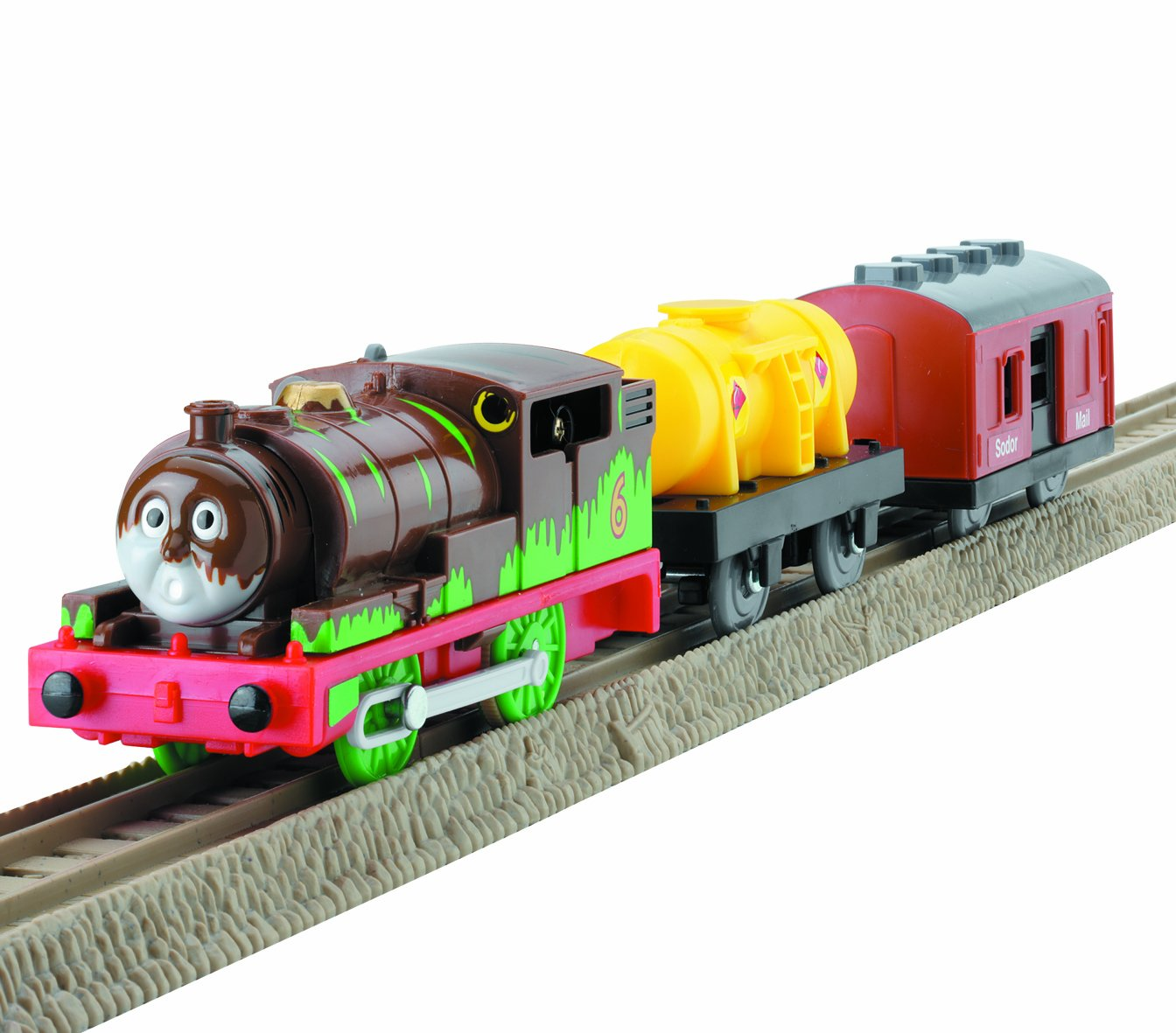 Thomas The Train Cake Colors