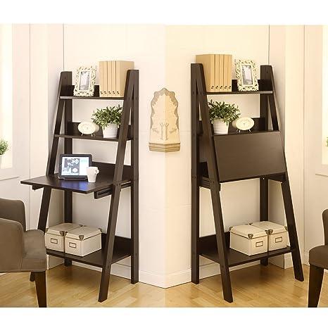 Metro Shop Furniture of America Union 2-in-1 Bookcase/ Writing Desk