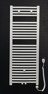 Elektro Badheizkörper weiss gebogen 1200 x 600 mit 600 Watt Heizstab Heizpatrone Bad Heizkörper Handtuchhalter  BaumarktKundenbewertung und Beschreibung